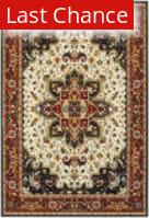 Rugstudio Sample Sale 167546R Red - Ivory Area Rug
