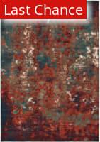 Rugstudio Sample Sale 189619R Blue - Red Area Rug