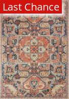 Rugstudio Sample Sale 189627R Blue - Orange Area Rug