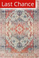 Rugstudio Sample Sale 189629R Blue - Orange Area Rug