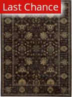 Rugstudio Sample Sale 110402R Onyx Black Area Rug