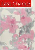 Rugstudio Sample Sale 205359R Beige - Pink Area Rug