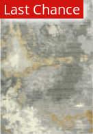 Rugstudio Sample Sale 196540R Gray - Ivory Beige Area Rug
