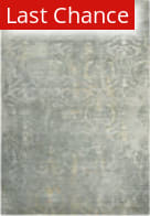 Rugstudio Sample Sale 196557R Gray - Ivory Beige Area Rug