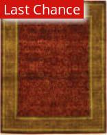 Rugstudio Sample Sale 423a Rust - Green Area Rug