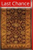 Rugstudio Sample Sale 49828R Burgundy / Gold Area Rug