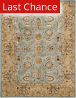 Rugstudio Sample Sale 46774R Blue / Gold Area Rug