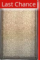 Rugstudio Sample Sale 46358R White / Black Area Rug