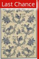 Rugstudio Sample Sale 46395R Blue Area Rug