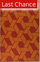 Rugstudio Sample Sale 47366R Blood Orange Area Rug