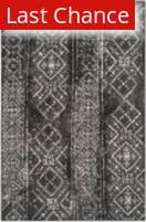 Rugstudio Sample Sale 126615R Black - Silver Area Rug