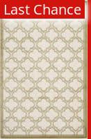 Rugstudio Sample Sale 107848R Ivory / Light Green Area Rug