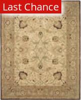 Rugstudio Sample Sale 80342R Ivory / Brown Area Rug