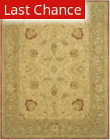 Rugstudio Sample Sale 46242R Ivory / Rust Area Rug