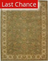 Rugstudio Sample Sale 49638R Green / Gold Area Rug