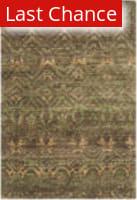 Rugstudio Sample Sale 126660R Green - Brown Area Rug