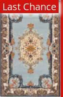 Rugstudio Sample Sale 46314R Light Blue / Ivory Area Rug