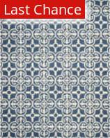 Rugstudio Sample Sale 100380R Navy / Ivory Area Rug