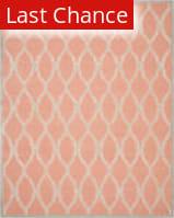Rugstudio Sample Sale 111971R Coral / Ivory Area Rug