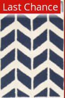 Rugstudio Sample Sale 143194R Navy - Ivory Area Rug