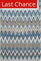 Rugstudio Sample Sale 107921R Teal / Blue Area Rug