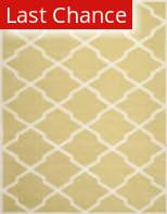 Rugstudio Sample Sale 100440R Light Gold / Ivory Area Rug