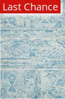 Rugstudio Sample Sale 155114R Blue - Ivory Area Rug