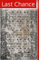 Rugstudio Sample Sale 166188R Black - Silver Area Rug