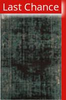 Rugstudio Sample Sale 166193R Teal - Brown Area Rug
