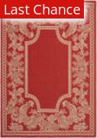 Rugstudio Sample Sale 98835R Red / Natural Area Rug