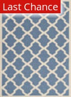 Rugstudio Sample Sale 182053R Blue - Beige Area Rug