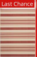 Rugstudio Sample Sale 99115R Beige / Red Area Rug