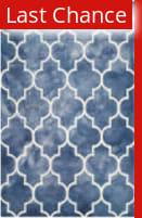 Rugstudio Sample Sale 143286R Navy - Ivory Area Rug