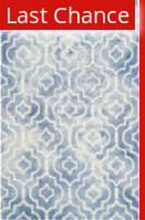 Rugstudio Sample Sale 143301R Blue - Ivory Area Rug