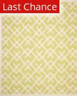 Rugstudio Sample Sale 66266R Light Green / Ivory Area Rug