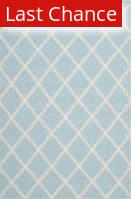 Rugstudio Sample Sale 80572R Light Blue / Ivory Area Rug