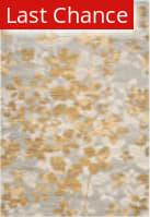 Rugstudio Sample Sale 155263R Grey - Gold Area Rug