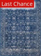 Rugstudio Sample Sale 155285R Navy - Ivory Area Rug