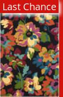 Rugstudio Sample Sale 155338R Black - Multi Area Rug