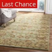 Rugstudio Sample Sale 49869R Green - Gold Area Rug