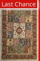 Rugstudio Sample Sale 66326R Multi / Red Area Rug