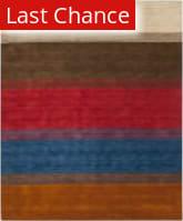 Rugstudio Sample Sale 80590R Orange / Multi Area Rug