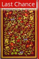 Rugstudio Sample Sale 49911R Burgundy Area Rug