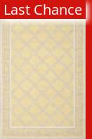 Rugstudio Sample Sale 107952R Yellow / Grey Area Rug