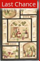 Rugstudio Sample Sale 49940R Gold / Multi Area Rug
