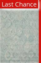 Rugstudio Sample Sale 155359R Ivory - Sea Blue Area Rug