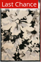 Rugstudio Sample Sale 94480R Black / Ivory Area Rug