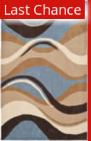 Safavieh Modern Art Mda617a Blue / Brown Area Rug