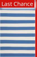 Rugstudio Sample Sale 112119R Blue / White Area Rug