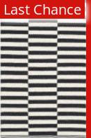 Rugstudio Sample Sale 143467R Ivory - Black Area Rug